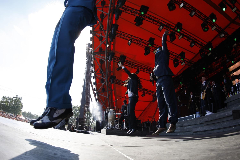 Fotograf i København Salg af koncertbilleder fra Roskilde Festival 2014.