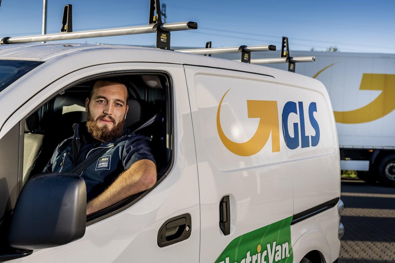 Elbilerne: Pressebilleder taget for GLS Danmark.