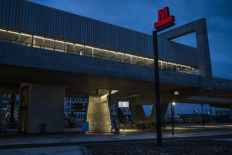 Metrostationerne: Arkitekturfotos taget for Elministeren.